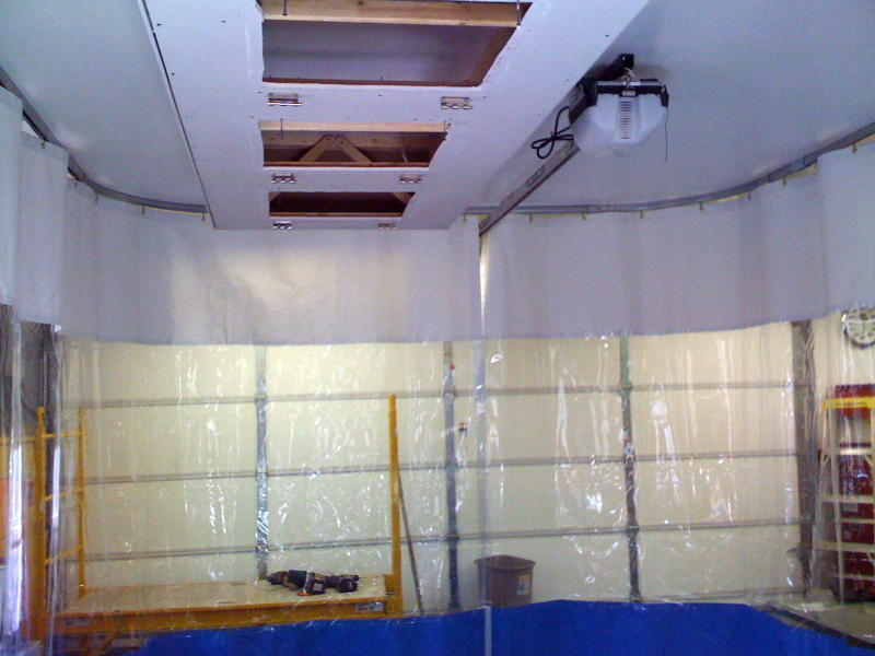 Garage paint booth design :: Paint Booth